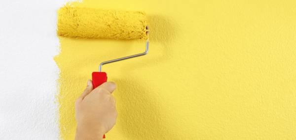 Jak malować ściany i sufit wałkiem